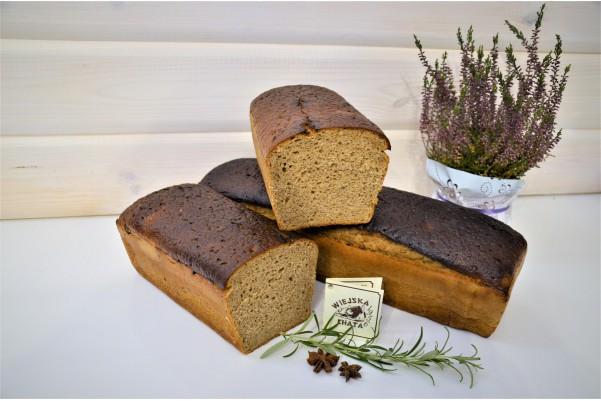 Chleb żytni z chrzanem