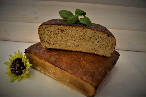 Chleb żytni z cebulą i...